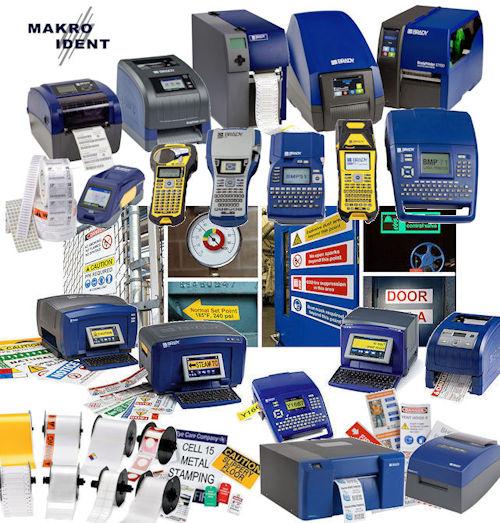 Brady Etikettendrucker für alle anfallenden Kennzeichnungen