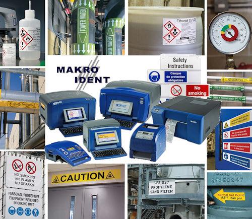 Brady-BBP-Farbdrucker Farbdrucker für Lean + Lockout-Tagout Sicherheitskennzeichnungen