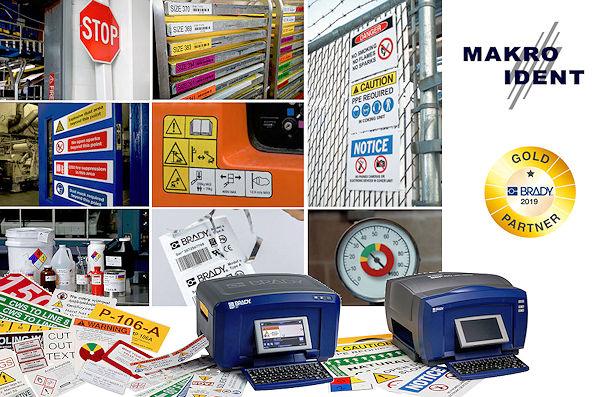 Brady-BBP37-BBP85 Brady BBP37 + BBP85 Farbdrucker für farbige Sicherheits-Kennzeichnungen