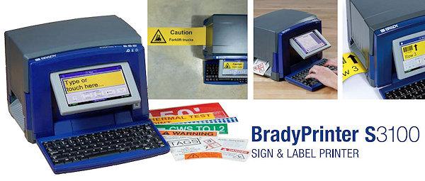 BradyPrinter S3100: Nachfolger des Brady BBP31 Schilderdruckers
