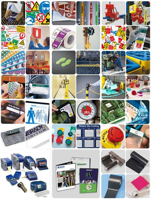 Über 33.500 Brady-Artikeln vom Brady-Distributor MAKRO IDENT