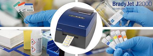 Labor-Farbdrucker BradyJet J2000 für farbige Kennzeichnungen