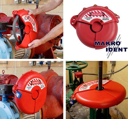 Handradabsperrungen für Handräder mit bis zu 457 mm Durchmesser
