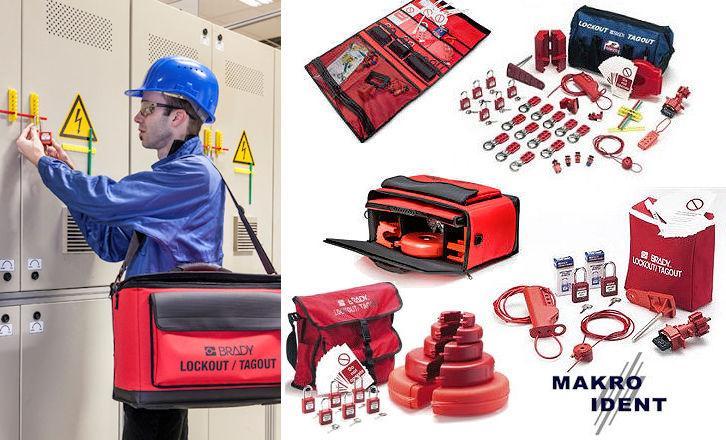 Lockout-Sets-fuer-wartung-und-reparatur Arbeitssicherheit: Lockout-Tagout Sets für Wartung und Reparatur