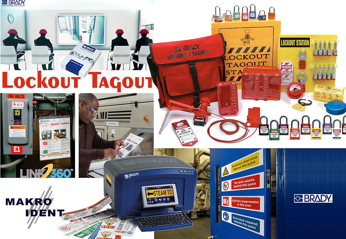Lockout-Tagout Lockout-Tagout / Lean-Lösungen für die Sicherheit am Arbeitplatz