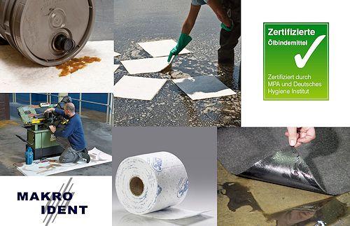 Ölbindemittel: Hochsaugfähige Tücher, Rollen und Wischtuchrollen