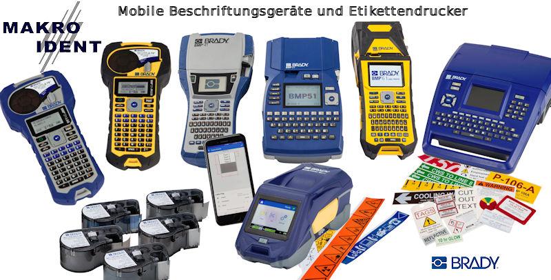 Mobile und robuste Etikettendrucker und Beschriftungsgeräte
