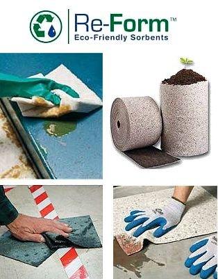 Umweltfreundliche Ölbindemittel aus Recyclingmaterial