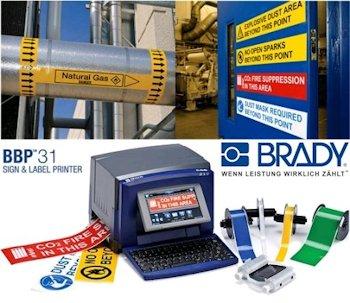 bbp31_etiketten-schilderdrucker Etiketten- und Schilderdrucker BBP31 für visuelle Arbeitsprozesse
