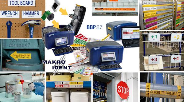 bbp37-mehrfarbdrucker-und-schneideplotter Lockout-Tagout: Brady BBP37 Mehrfarbdrucker mit Plotfunktion