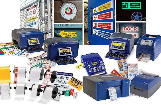 Farbdrucker und Plotter für die Arbeitssicherheit + Lean/5S