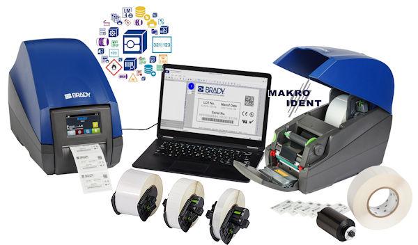 Neu: Etikettendrucker BradyPrinter i5100 für Industrie und Labor
