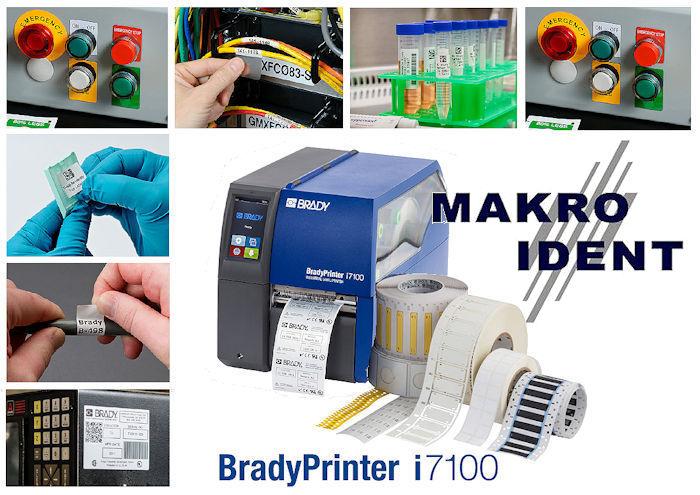 bradyprinter-i7100-etikettendrucker Industrie-Etikettendrucker BradyPrinter i7100 für Anspruchsvolle