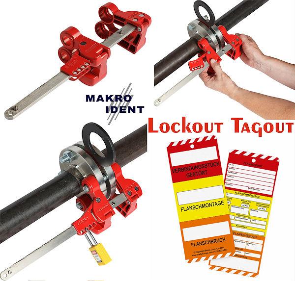 flansch-verriegelung Mit auffälligen Flansch-Verriegelungen Rohre sicher verriegeln