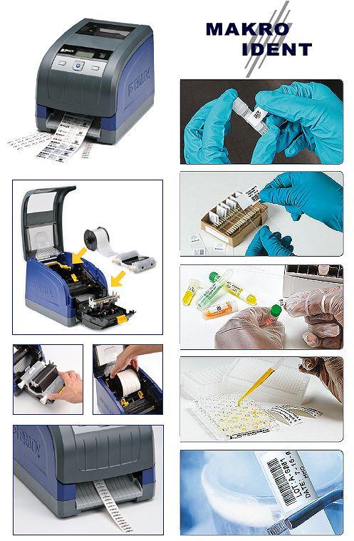 Einfaches kennzeichnen von Laborproben mit dem Etikettendrucker i3300