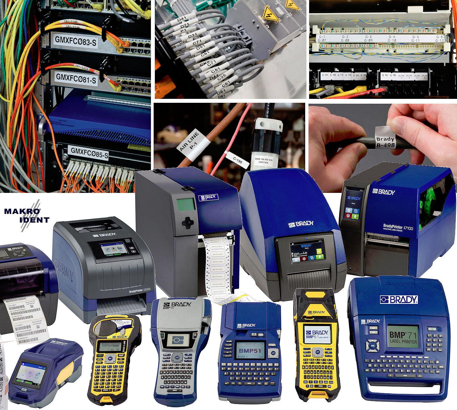 kabelbeschriftung Zuverlässige Kabelbeschriftung und passende, robuste Beschriftungsgeräte