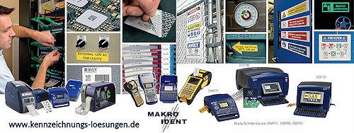 Industrielle Kennzeichnungslösungen: Etiketten, Schrumpfschläuche, Drucker, Software