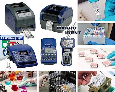 Laboretiketten zum sicheren Kennzeichnen von Laborproben