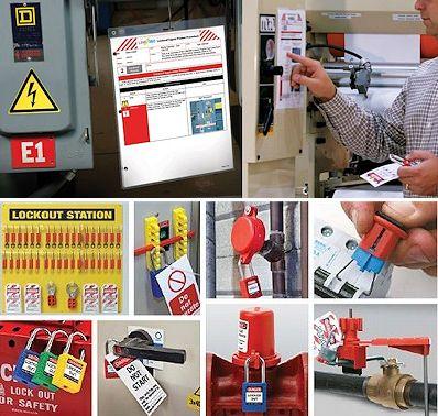 loto-allgemein Lockout-Tagout Absperrungen, Verriegelungen und Sicherheitskennzeichnung
